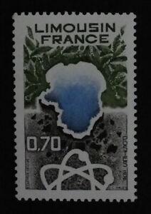 Timbre poste. France. n°1865. Régions. Limousin