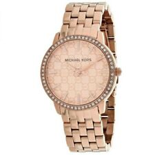 Michael Kors Womens Nini Rose Gold Stainless Steel Bracelet MK3156 Ladies Watch