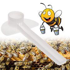 10pcs Bee Feeder Water Drink Feeding Plastic Beekeeping Apiculture Beehive Tool