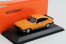 Ford Capri S 3 MKIII Coupe orange 1:43 Maxichamps Minichamps