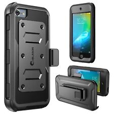 Case Ipod Touch 6th Generation Heavy Duty Dual Layer Hybrid Fullbody Front Cover