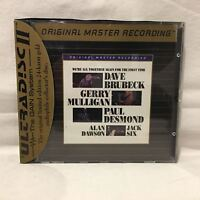 Dave Brubeck Gerry Mulligan Paul Desmond - Were All Together.... - CD GOLD MFSL