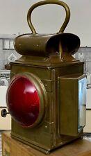 Merryweather Dependence Fire Fighting Engine Lantern JR Oldfield Paraffin Burner