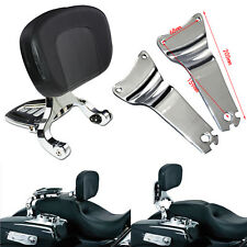 Adjustable Driver & Passenger Backrest Fit For Touring Electra Glide 2009-13