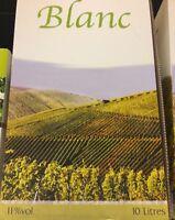 lot revendeur-palette solderie/déstockage De 10 Litres De Vin Blanc Extra Cubi