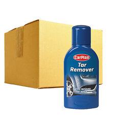 12 x Carplan Tar Remover Cleaner Removes Tar Oil Paintwork Wheels Plastic Chrome
