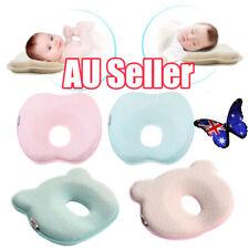 Baby Infant Newborn Memory Foam Pillow Prevent Flat Head Anti Roll Support HOT!!