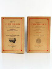 Manuel d'archéologie française Architecture religieuse ENLART Picard 1927-1929