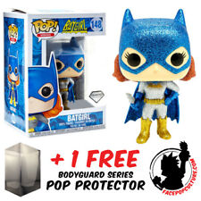 FUNKO POP DC BATMAN BATGIRL DIAMOND GLITTER EXCLUSIVE + FREE POP PROTECTOR