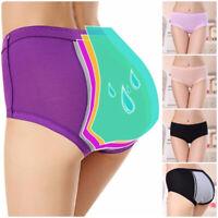Women Menstrual Period Physiological Leakproof Panties Briefs Underwear Pants
