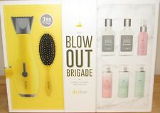 Drybar Buttercup Hair Blow Dryer 8 Pc Set Lemon Drop Brush Product Out Brigade