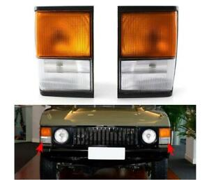 Front Corner Lights FOR Land Rover Range Rover Classic 1987-1995 OE European