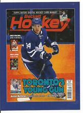 2016-17 Auston Matthews Beckett Oversize Young Guns Card Toronto Expo RC 117/999