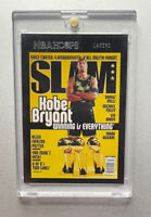 2020-21 NBA Hoops Kobe Bryant Slam Magazine Cover SP Lakers Clean!