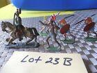 5 Vintage Lead Misc Soldier Figurines