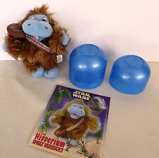 Ferrero Ü-Ei Maxi-Ei Happy Hippos Plüschfigur Aubacca +BPZ + Kapsel 2002
