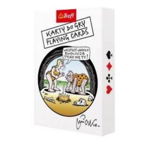Andrzej Mleczko playing Cards - Adult Playing Cards. Karty do gry dla Dorosłych
