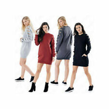 All Seasons Long Sleeve Dresses Oversize