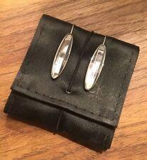 Swarovski Silver Plated Stone Costume Earrings