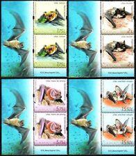MOLDOVA 2017-10 FAUNA: Bats. LL CORNER Pairs, MNH