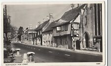 Gloucestershire; Northleach, High St PPC, 1958 PMK, Union Hotel & Red Lion Pub