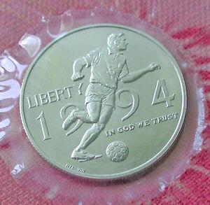 1994 FIFA World Cup UNC clad half dollar - box & COA