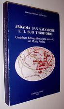 Abbadia San Salvatore e il suo territorio