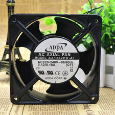 ADDA AA1282HB-AW Cooling Fan AC 220 0.12A 120mm x 120mm x 38mm With Connector