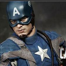 THE FIRST AVENGER CAPTAIN AMERICA HOTTOYS HOT TOYS 1/6 MMS156 FIGURE PA AQ1787
