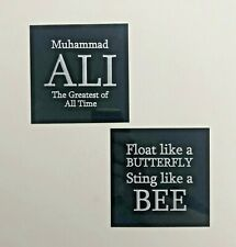 Muhammad Ali - 105x105mm Engraved Plaque / Plate Set - For Signed Memorabilia