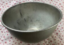 Vintage Early 1900s WEAR-EVER Aluminum Mixing Bowl No. 145 TAOUCo ~ Made in USA