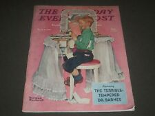 1942 MARCH 21 SATURDAY EVENING POST MAGAZINE - NORMAN ROCKWELL COVER - K 1508