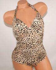 Victoria's Secret  FOREVER SEXY UNFORGETTABLE Leopard 1 piece Swimwear 32B 4 NIP