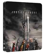 🔥Zack Snyders Justice League 4K Uk Limited Edition bluray Steelbook pre order🔥