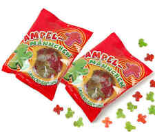 2x AMPELMANN Früchtchen Fruchtgummi Ampelmännchen fruit gums (1,48 € / 100g)