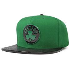 Boston Celtics TEAM STANDARD RADIATION Snapback Mitchell & Ness NBA Hat - Green