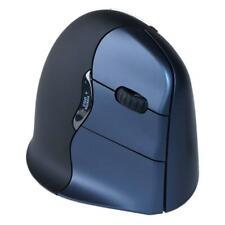 Evoluent Vertical Mouse 4 Wireless Rechte Hand, Blau/Schwarz