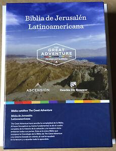The Great Adventure Catholic Bible Spanish Biblia De Jerusalen Latinoamericana
