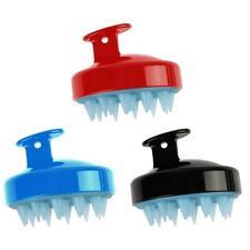 Massage Shampoo Brush Silicone Scalp Massager Removable Shampoo Cleaner Comb