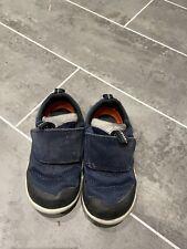Boys Navy Clarks Shoe 5g