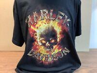 "Harley-Davidson Men/'s Black Small Shirt /""Biker Life/"" New"