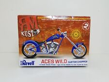 REVELL ACES WILD CUSTOM CHOPPER 1/12 Scale #85-7315 NEW SEALED RARE