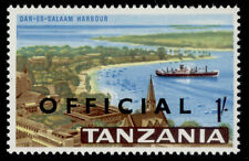 More details for tanzania qeii sg o18, 1s multicoloured, nh mint. cat £22.