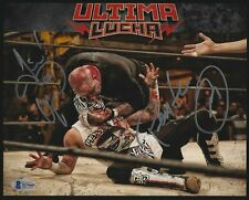 Pentagon Jr. Vampiro Signed 8x10 Photo BAS Beckett COA Lucha Underground AEW AAA