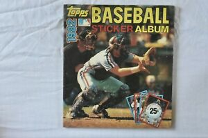 1982 Topps Baseball Sticker Album (Complete)