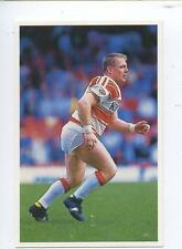 Scarce Trade Card of Andy Gregory, Rugby League 1991 Series 2