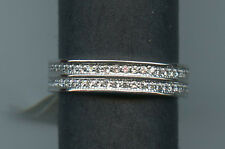 925 STERLING SILVER 1 CARAT TW SIGNITY CZ ETERNITY ANNIVERSARY WEDDING BAND 7