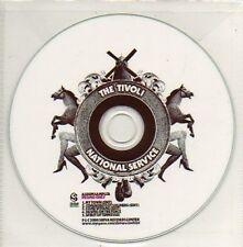 (899D) The Tivoli, National Service - DJ CD