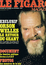 Figaro Magazine Orson Welles