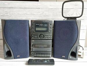 JVC Ux-A3 Micro Component System CD/Radio/Cassette Retro Micro Hifi rare only 1